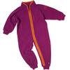 Isbjörn Baby Lynx Microfleece Jumpsuit Blueberry Smoothie